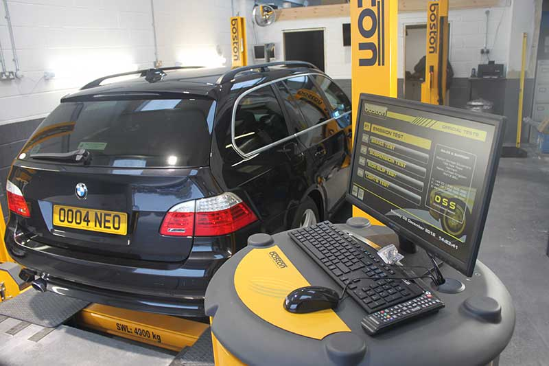 Hi tech Mot test centre